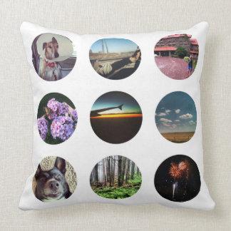 Nine Circles Instagram Photo Pillow