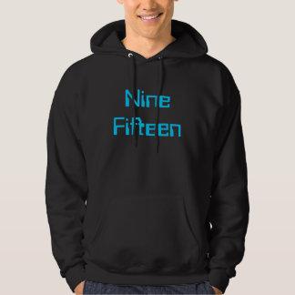 Nine Fifteen Hoodie black/Blue
