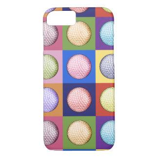 Nine Golf Balls iPhone Case