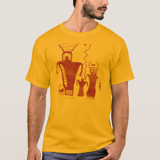 Nine Mile Canyon Rock Art 'Aliens' T-Shirt