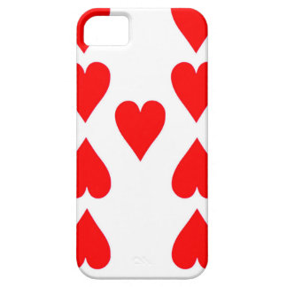 Nine of Hearts Playing Card Case For The iPhone 5