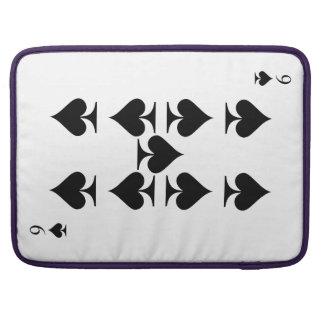 Nine of Spades Sleeve For MacBook Pro