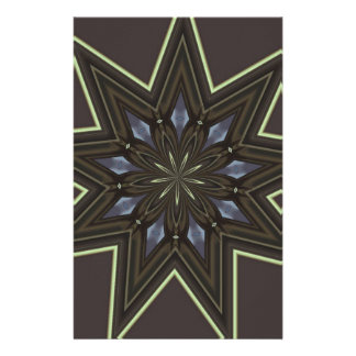 Nine Pointed Star Stationery