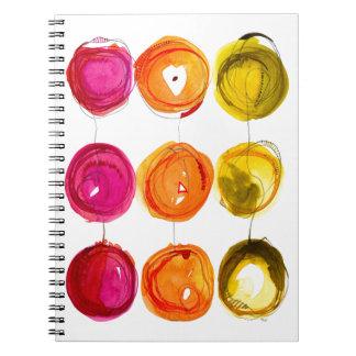 Nine Spot Citrus Notebooks