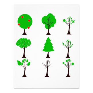 nine tree simple graphics eco design.png invites