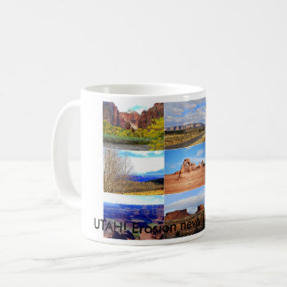 Nine Utah Landscape Icons Coffee Mug