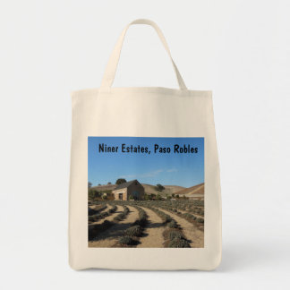 Niner Estates, Paso Robles, CA Event Center Grocery Tote Bag