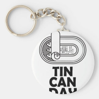 Nineteenth January - Tin Can Day Key Ring