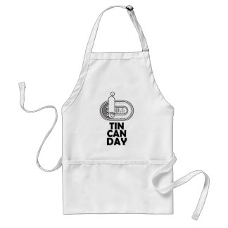 Nineteenth January - Tin Can Day Standard Apron