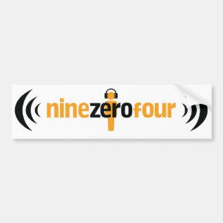 NineZeroFour Bumper Sticker