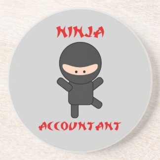 Ninja Accountant Coaster