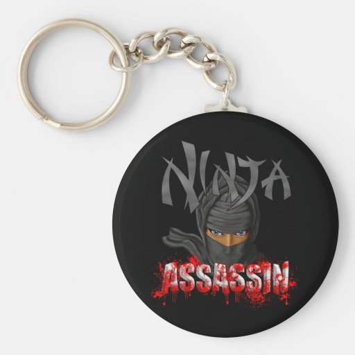 Ninja Assassin Keychains