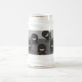 Ninja Beer Stein - KItchy Gift!