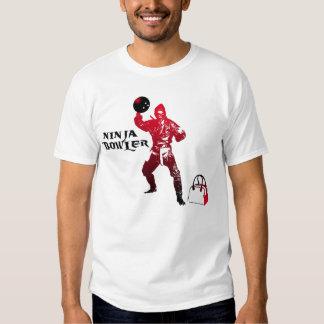 Ninja bowler t shirts
