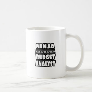 Ninja Budget Analyst Mug