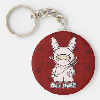 Ninja Bunny! In Red Keychain