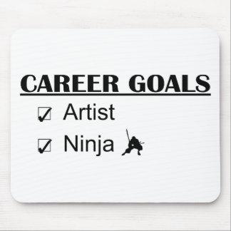 Ninja Career Goals - Artist Mouse Pad