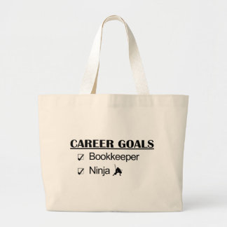 Ninja Career Goals - Bookkeeper Jumbo Tote Bag