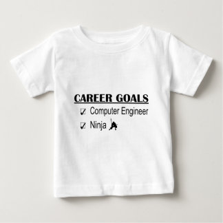 Ninja Career Goals - Computer Engineer Baby T-Shirt