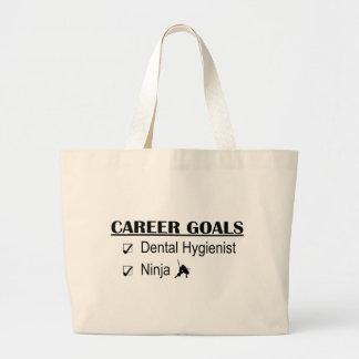Ninja Career Goals - Dental Hygienist Jumbo Tote Bag