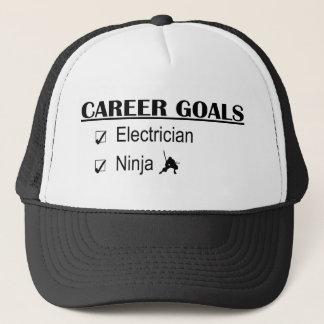 Ninja Career Goals - Electrician Trucker Hat