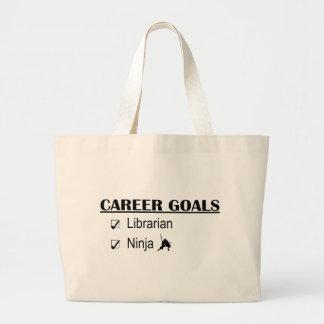 Ninja Career Goals - Librarian Jumbo Tote Bag