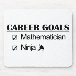 Ninja Career Goals - Mathematician Mouse Pad