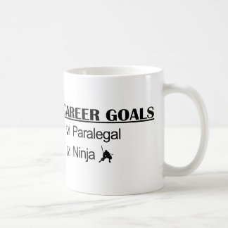 Ninja Career Goals - Paralegal Coffee Mugs