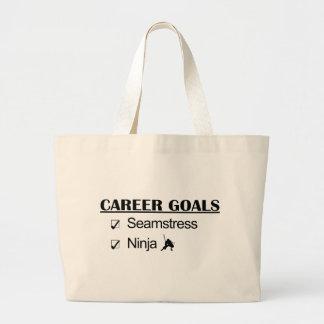 Ninja Career Goals - Seamstress Jumbo Tote Bag