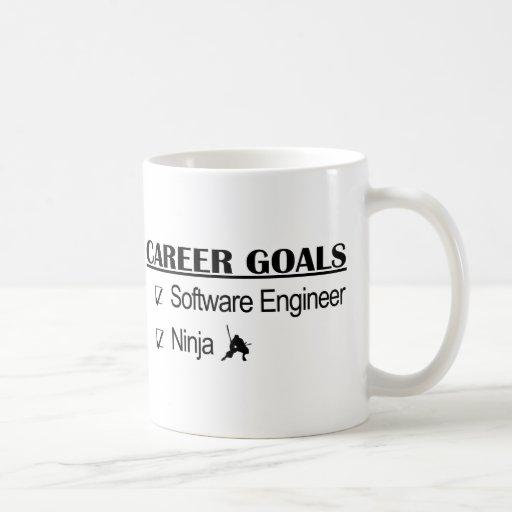 Ninja Career Goals - Software Engineer Mugs