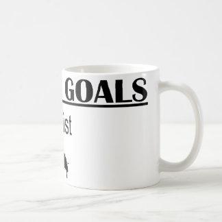 Ninja Career Goals - Therapist Basic White Mug