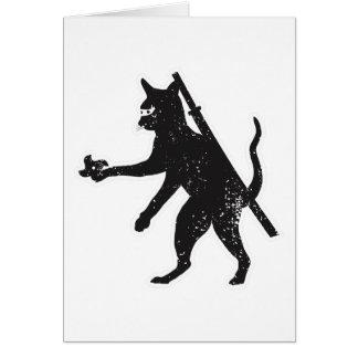 Ninja Cat Card