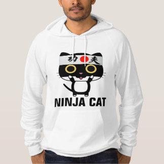 NINJA CAT Funny Mens Hoodies & T-shirts