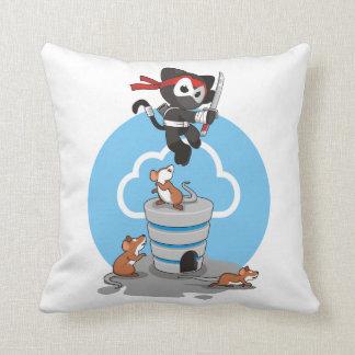 Ninja Cat pillow
