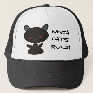 Ninja Cats Rule! Trucker Hat