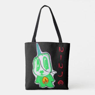 Ninja Character Tote Bag