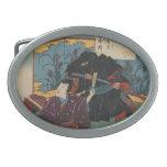Ninja circa 1853 Japan Belt Buckles
