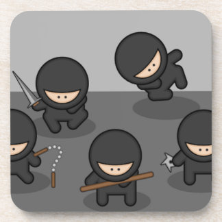 Ninja Coasters - Retro Party Fun!