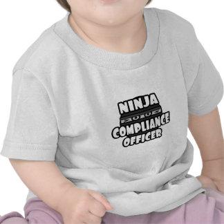 Ninja Compliance Officer Tshirts