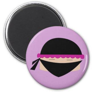 Ninja Cupcake Magnet