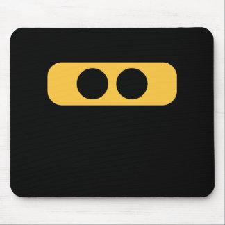 Ninja eyes mouse pad