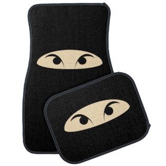 Ninja Face Car Mat