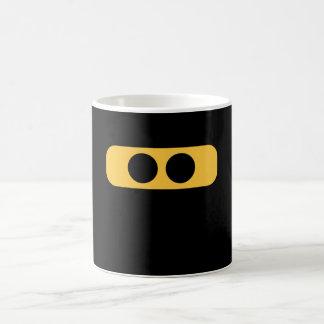 Ninja face coffee mug