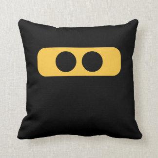 Ninja face cushion