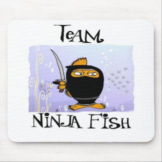 ninja fish mousepad