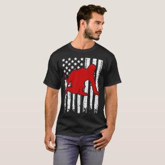 NINJA FLAG AMERICAN T-Shirt