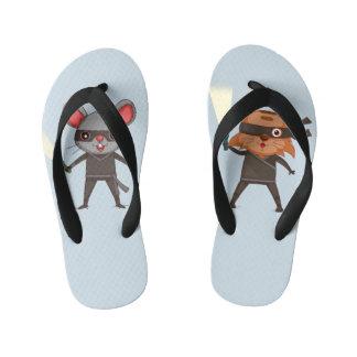 Ninja Flip Flops Thongs