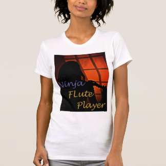 Ninja Flute Player Shirt