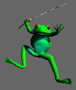 Ninja Frog Gifts On Zazzle Au