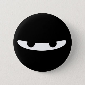 Ninja Glare! 6 Cm Round Badge